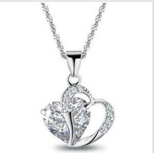 Swarovski heart necklace ebay swarovski crystal heart necklaces mozeypictures Gallery