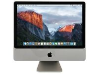 All in One Desktop Pc iMac 20'' Display Core2Duo 4GB Ram 320GB HDD + Free Keyboard & Mouse