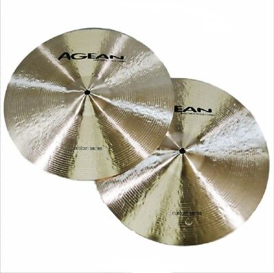Agean Cymbals Custom Series 14-inch Custom Hi-Hat Medium