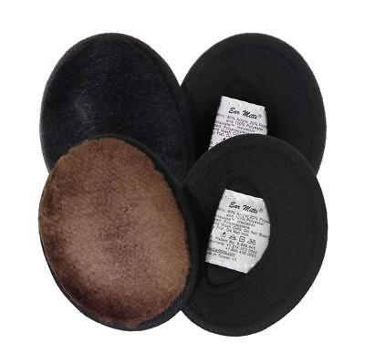 Ear Mitts Bandless Muffs For Men & Women, Soft Winter Warmers, 2 Sizes