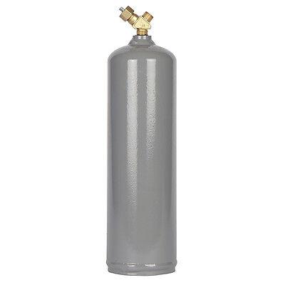 Mc Acetylene Steel 10 Cu Ft Gas Cylinder - Cga200 Valve - Welding - Ships Free