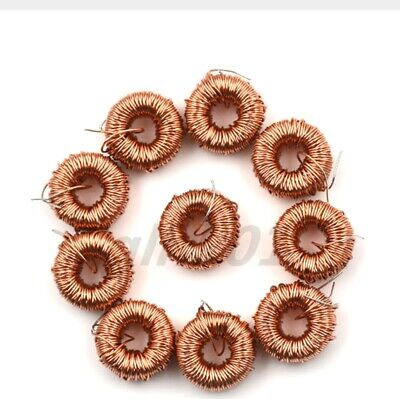 10pcs 3a 470uh Toroidal Coil Inductor Induction Magnetic Winding For Lm2596