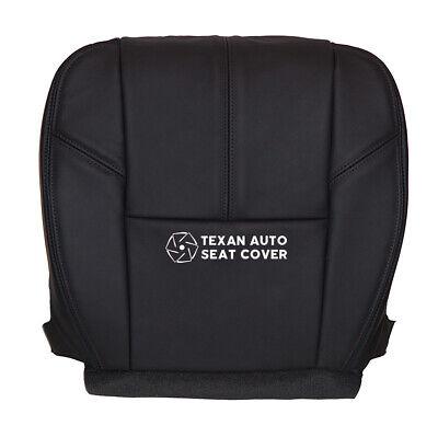 2007-2014 Chevy Silverado 1500 LTZ, Z71, Driver Bottom Vinyl Seat Cover Black