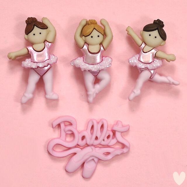 DRESS IT UP Buttons Little Ballerinas 6954 - Girls Princess School Fairy