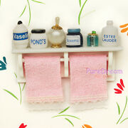 Dollhouse Towel Rack
