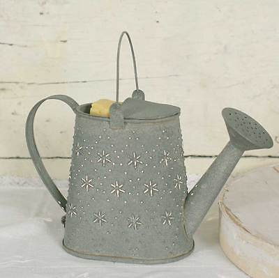 Primitive/Farmhouse/Cottage/Country Watering Can Candle Wax Warmer - Barn Roof
