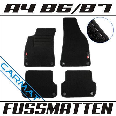 Mattenprofis Velours SportLine Fußmatten für Audi A4 8E B6 B7 ab Bj.2000-2008