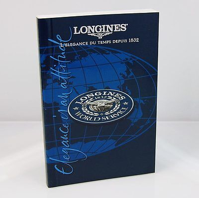 Longines Watch Operating Instructions Manual Booklet (guide book)