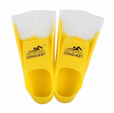 Soft Silicone Swimming Flippers Training Diving Snorkeling Fins Submersible (Silicone Fins)