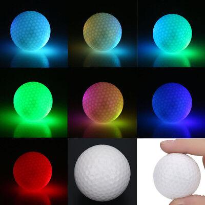 Sports LED Glow in the Dark Golf Ball Night Sports Light LED Golf Balls  SD