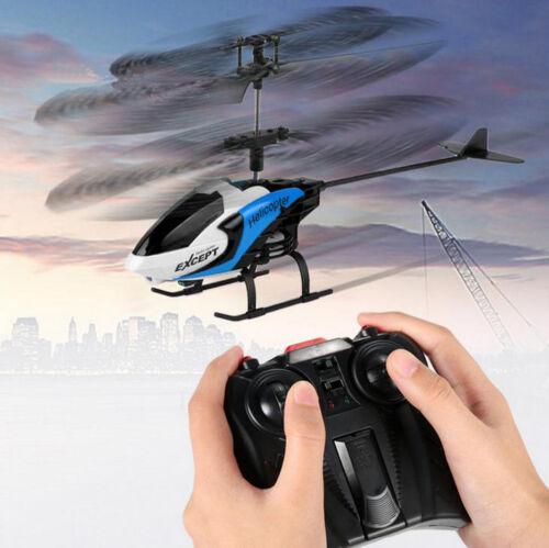 SMtoys S126 2.5CH Phantom Mini Metal Remote Control RC Helicopter GYRO Blue