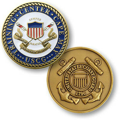 NEW U.S. Coast Guard Training Center Cape May, NJ Challenge Coin.