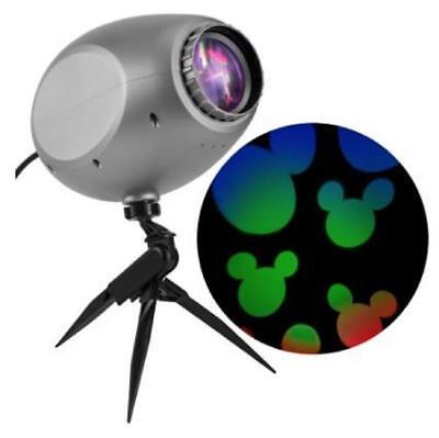 Disney Mickey Mouse Magic Holiday LED Projection Spotlight Outdoor Projector - Outdoor Holiday Projector