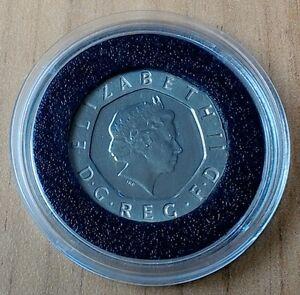Undated 20p Coin - Twenty Pence - No Date - 2008 - Mule - Royal Mint Error