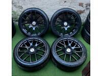 "Volkswagen/Audi 18"" Boston Alloy Wheels & Tyres (5x112)"