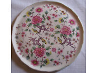 James Kent Old Foley Chinese Rose Cake Plate