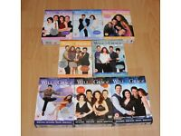 Will & Grace DVD Sets Series 1,2,3,4,5,6&8
