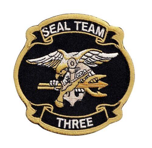 Navy Seal Team Three Hook Patch