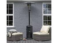 Patio Heater & Cover - Wallace Sacks. Brand new in box.