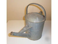 Watering Can - Vintage 1 and a 1/2 Gallon, Beldray, Galvanized, Gardening