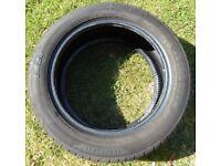 185/55 x 15 Tyre. 6.5mm Tread Remaining.