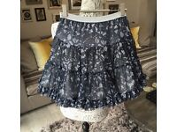 New Girls designer Mim Pi Party Skirt Age 8