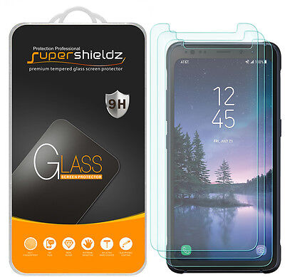 "3X Supershieldz Samsung ""Galaxy S8 Strenuous"" Tempered Glass Screen Protector Saver"