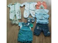 Baby boys summer clothing bundle - Newborn (inc Pumpkin Patch)