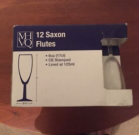 Wine/Champagne Flutes box of 12