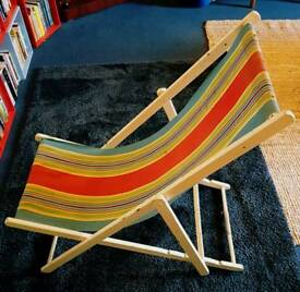 Vintage deck chair DELIVERY AVAILABLE