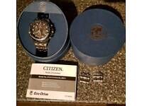 Citizen Skyhawk Eco-Drive Radio-Controlled watch