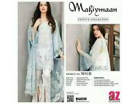 Mahiymaan lawn embroided suits