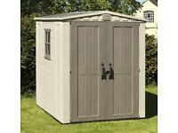 Keter 6x6 outside storage shed for sale!