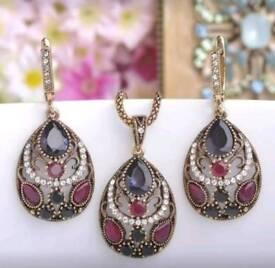 Turkish jewelry set new
