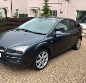 57 Ford Focus 2.0 TDCI Titanium Heated Black Leather Fully Loaded 5 Door Grey 129k 6 Spd Can Deliver