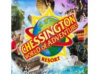 2 Entry Tickets to Chessington World of Adventures Resort Friday 20th July 2018