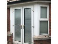 Double glazed PVC doors and windows