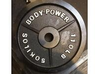 50Kg Bodypower Olympic Weight Plate