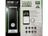 ENER-J SMART HOUSE LIVING SMART WIRELESS VIDEO DOORBELL PRO SERIES