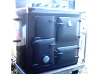 AGA Rayburn Cooking Range solid fuel / wood burning in excellent condition