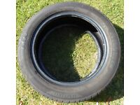 185/55 x 15 Tyre. Evergreen EH23. 6.5mm Tread Remaining.