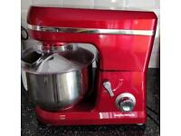 Morphy Richards, Stand cake mixer. Red.