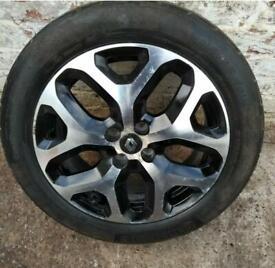 "17"" Renault Captur (16-20) Alloy Wheel Tyer 205 55 R17 V XL"