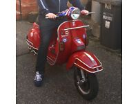 Lml/Vespa PX geared 166 reg as 125