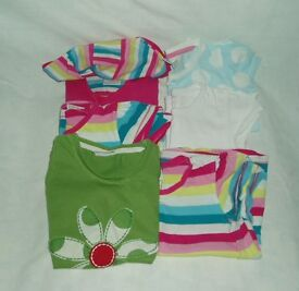 Girl's tops aged 4-5 years - 6 items