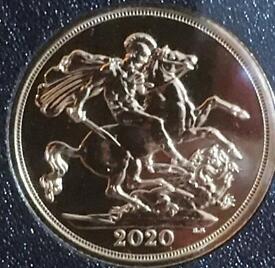 2020 full gold sovereign