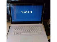 Sony Vaio. Windows 10. I3 Processor. X64-based Processor. 750G HDD. 4G Ram
