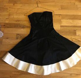 Beautiful Coast Monochrome Prom Dress - Size 8