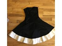 Beautiful Coast Monochrome Prom Dress - Size 8