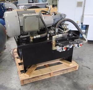 Hydraulic Power Pac 25hp 575volts w/ Oil Cooler